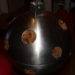 Sphère inox et Sphaigne